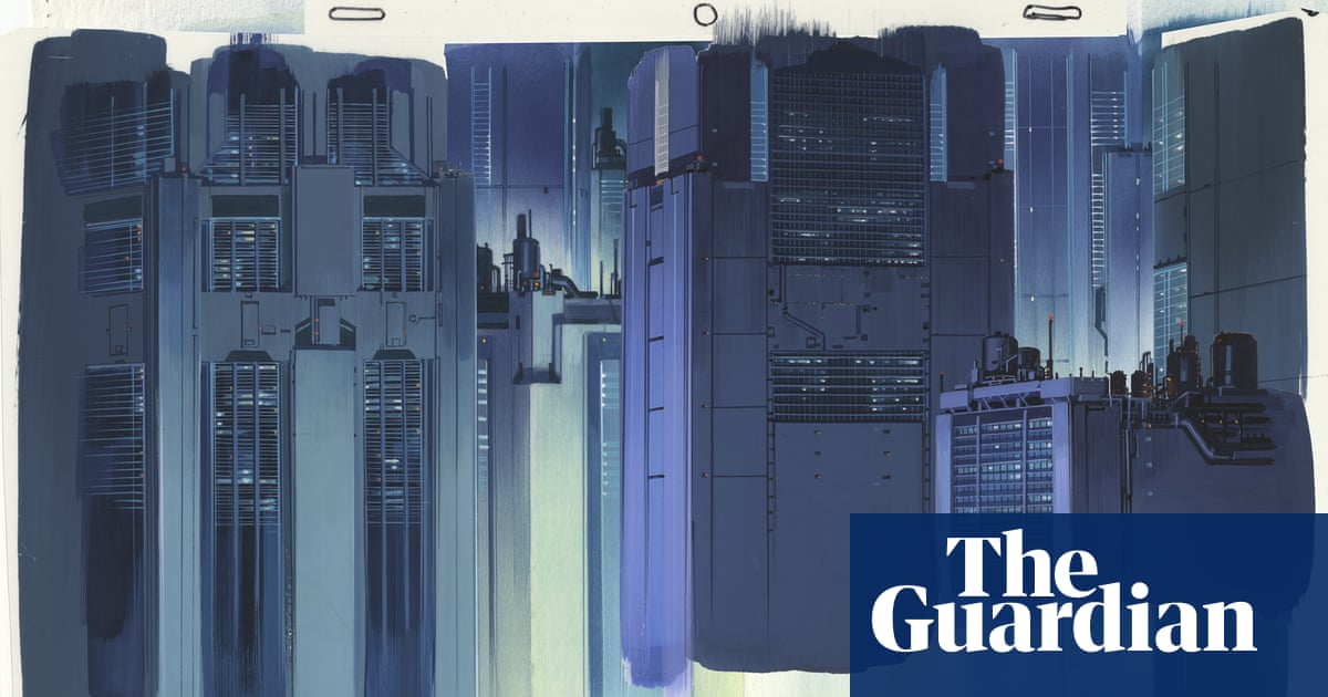 Ghost In The Shell S Urban Dreamscapes Behind The Moody Art Of The Anime Classic Film The Guardian