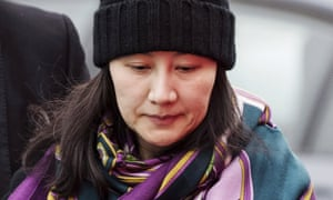 Meng Wanzhou was detained in Vancouver last December and charged by the US justice department with conspiring to violate US sanctions on Iran.
