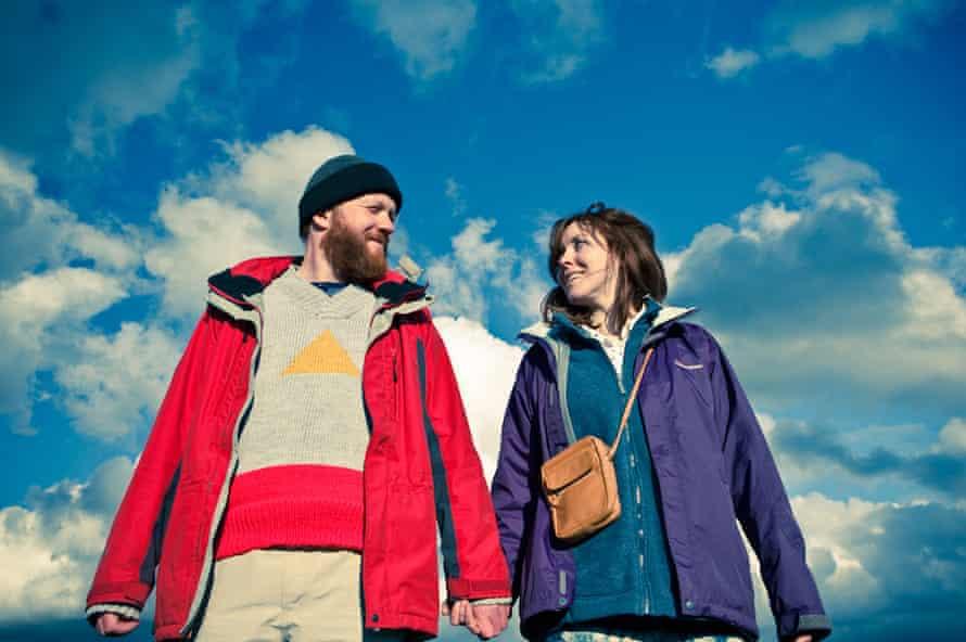 Steve Oram and Alice Lowe in Wheatley's 2012 black comedy Sightseers.