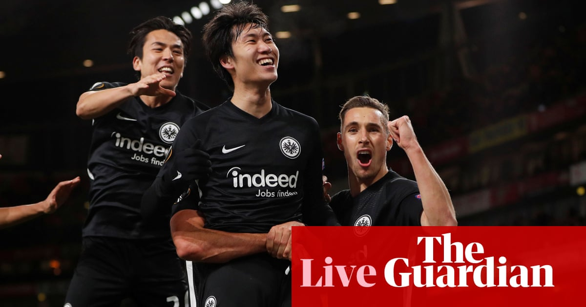 Arsenal v Eintracht Frankfurt, Celtic v Rennes and more: Europa League – live! | Football