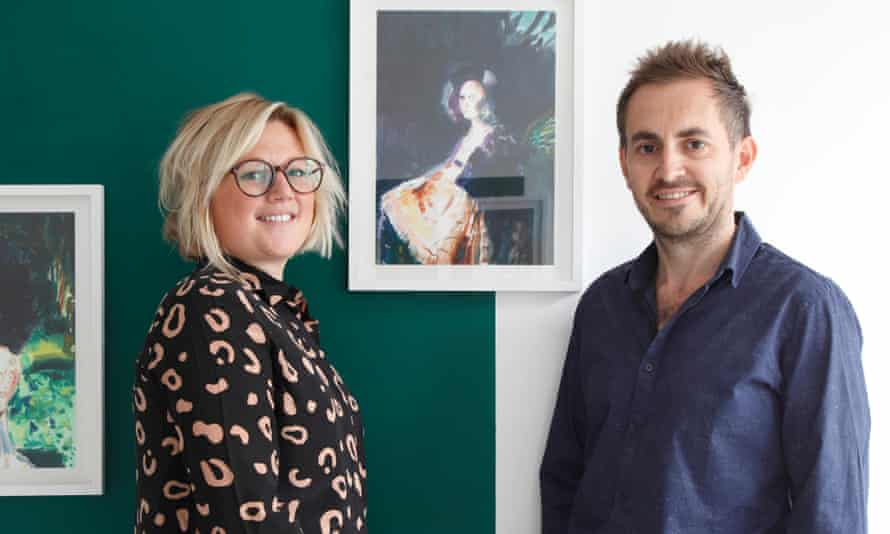 Jemma Hickman and husband  Andy Stokes.