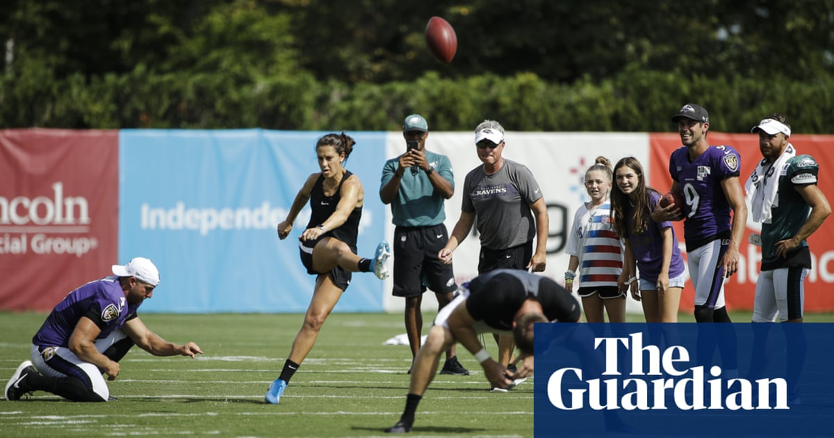 promo codes 100% top quality presenting Will Carli Lloyd open the door for the NFL's first female ...