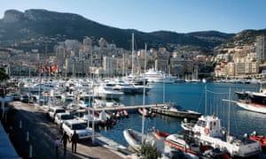 Voila, Monaco harbour in 2014