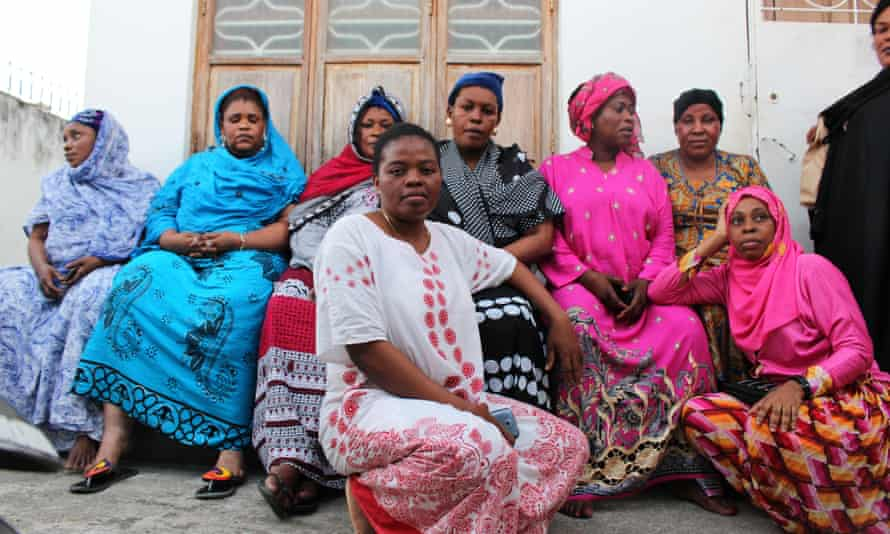 Sex worker rights defenders from Yosoa in Zanzibar, Tanzania. Yosoa conduct health outreach and provide support after police, client or family violence.