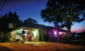 A roadside cafe in Cedar Key, Florida.