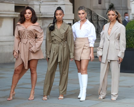 Little Mix pictured in September.