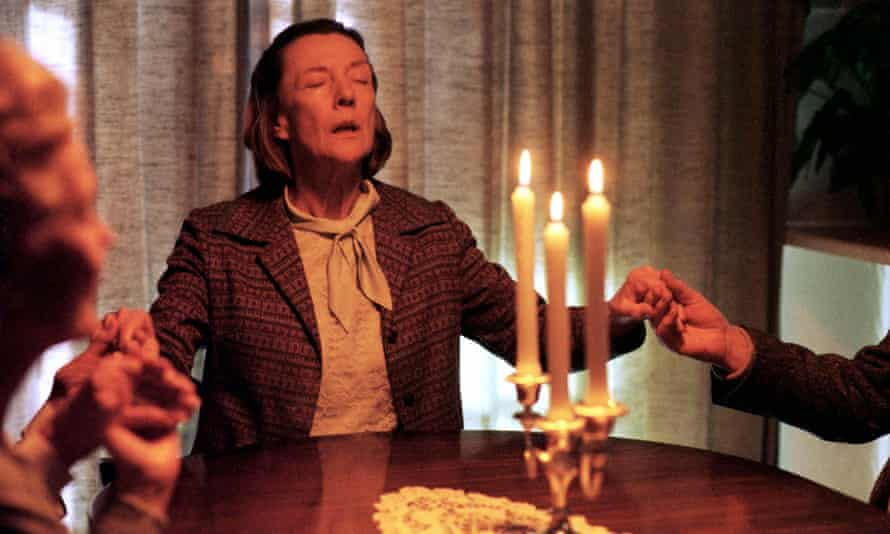 Eileen Atkins in the role of Violet Moon in the BBC's The Sleeper, 2000, based on Gillian White's 1998 novel.