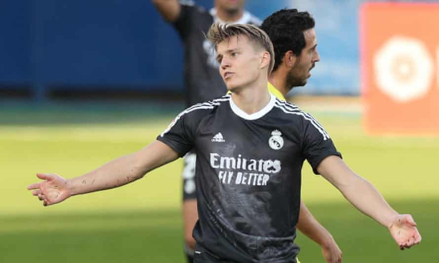 Martin Ødegaard is joining Arsenal on loan for the rest of the season, subject to a medical.