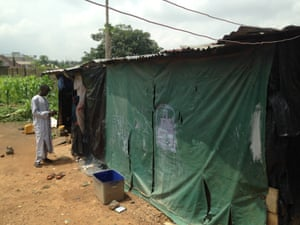 Mohammed Ahmed and his house in Abuja