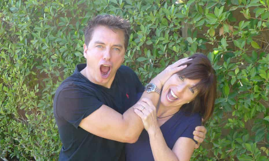 Carole and John Barrowman (star of Doctor Who and Torchwood), authors of Conjuror.