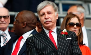 Kroenke at the 2017 FA Cup final, in which Arsenal beat Chelsea 2-1