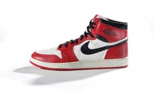 Nike Air Jordans from 1985