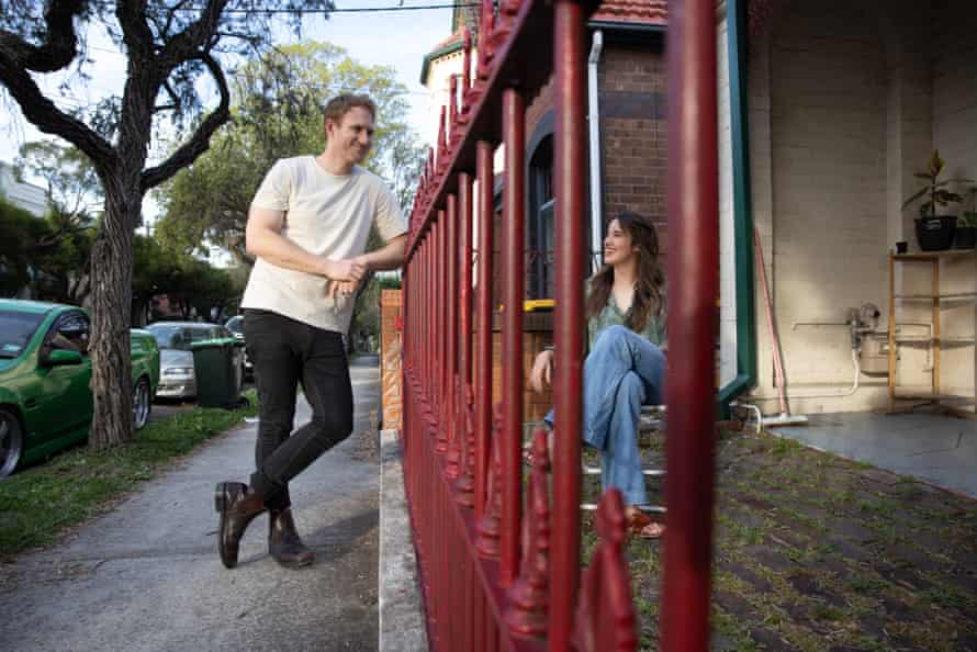 Melissa Mason and Tom Falkner met via an online dating site and they were living a street away from each other.