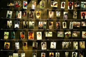 The Gisozi memorial in Kigali