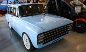 CV-1 electric car prototype designed by the Kalashnikov company