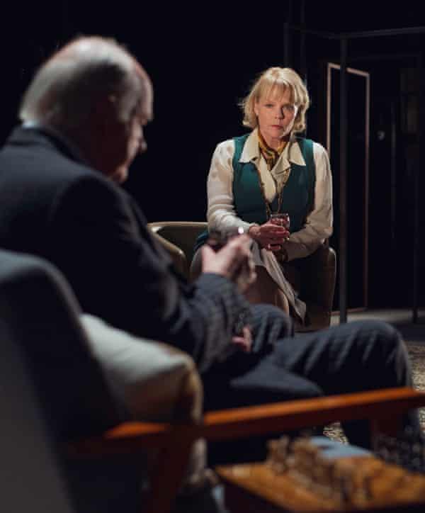 Backstory … Sara Crowe as Philby's wife, Rufa.