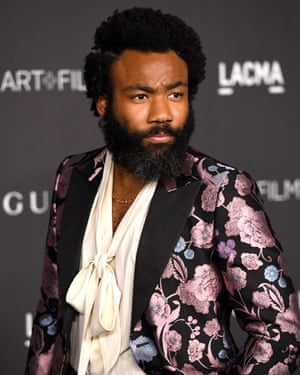 Get the look: Donald Glover at the 2019 LACMA Gala, Los Angeles.