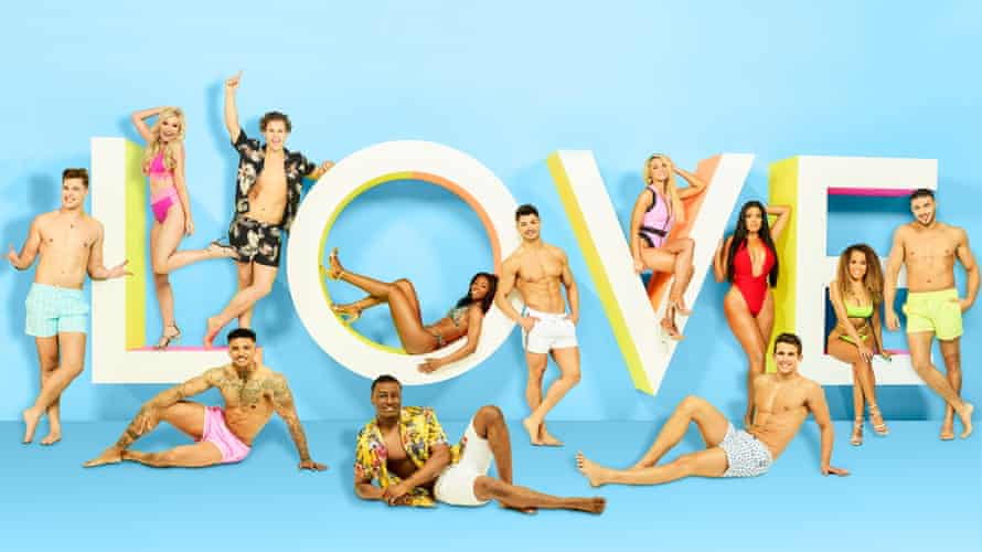 The contestants in the new series of Love Island.