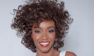 Yaya DaCosta as Whitney Houston in Whitney