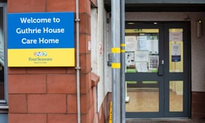 Guthrie House care home in Edinburgh, run by Four Seasons
