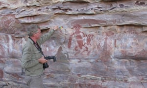 The sites contained more than 30,000 images, including a number of the haunting, elongated human forms known as Gwion figures.