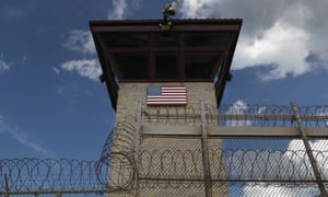 The entrance of the US prison at Guantánamo Bay: 'the aura of forever hangs heavier than ever.'