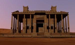 Temple of Bel rendering