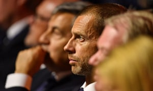 The Uefa president, Aleksander Ceferin, said he will discourage more than one bid from Europe for the 2030 World Cup.