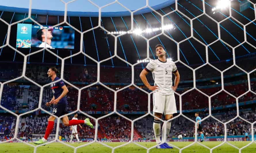 Mats Hummels reacts after his early own goal, which proved to be decisive.