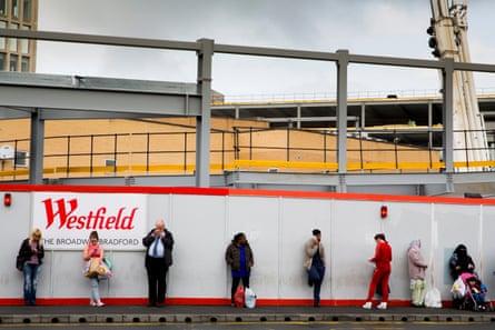 Westfield under construction, Bradford