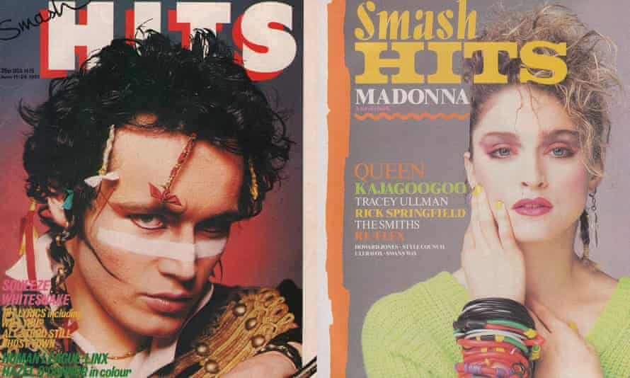 'Smash Hits felt like a brick through the window' … Adam Ant and Madonna covers from 1981 and 1984.