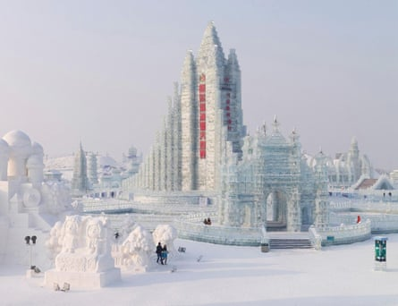 Massimo Vitali ice festival in Harbin China