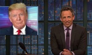 Seth Meyers: 'The only way you could care less about the Constitution is if it were written in Spanish.'