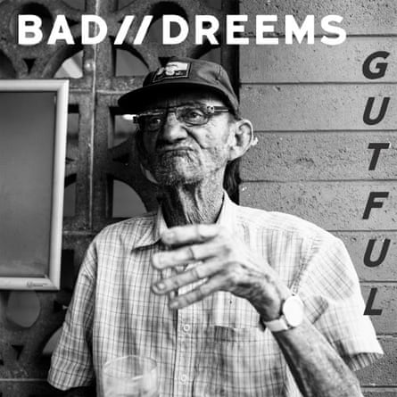 The cover for Bad//Dreems second album, Gutful