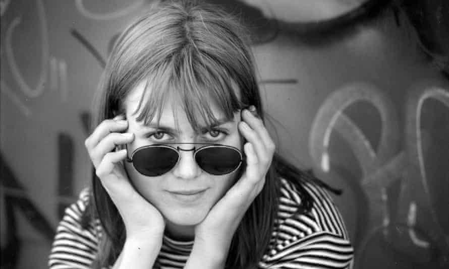 Shy, not retiring: Juliana Hatfield, pictured in 1993.