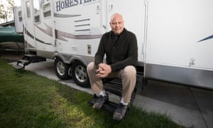 Dave Schulman, a former police officer, was on the brink of homelessness when a friend organized a GoFundMe campaign to support him.