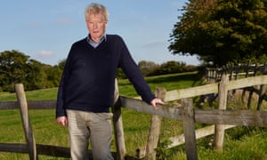 Roger Scruton at his home in Wiltshire
