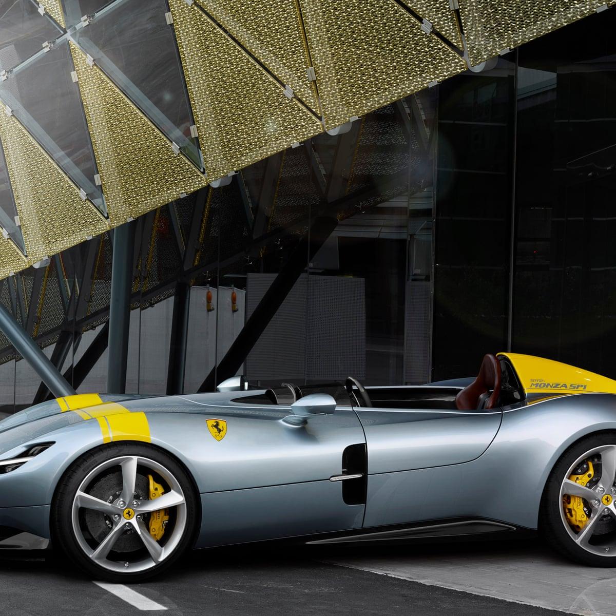 Ferrari Pre Sells Entire New Supercar Model Despite 1m Price Tag Luxury Goods Sector The Guardian