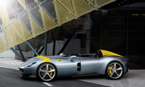 the all-new (and sold out) Ferrari Monza SP1.