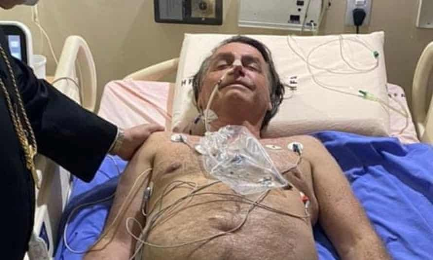 bolsonaro in hospital