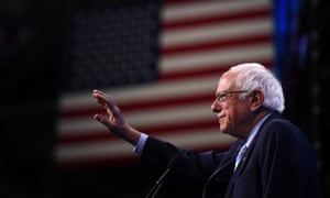 Bernie Sanders at the New Hampshire Democratic party state convention in September