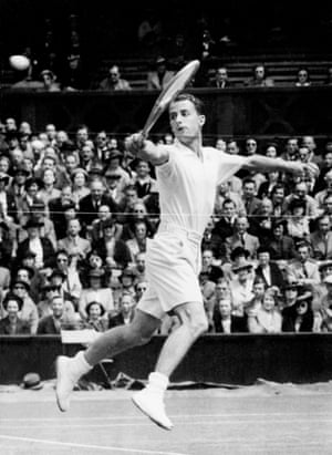 """Henry Wilfred """"Bunny"""" Austin has been called """"the most admirable failure in the history of British tennis"""". Although he did succeed in one area at least: introducing shorts to the game, a move that saw him described by one journalist as looking """"like an AA Milne production"""". Having worn them to play football at school, he thought: """"Why not for tennis? … I got a lot of kidding, but the wisdom of it was apparent. The next year, I introduced them at Wimbledon … Slowly, others followed. I don't know why we put up with long flannel trousers for so long."""""""