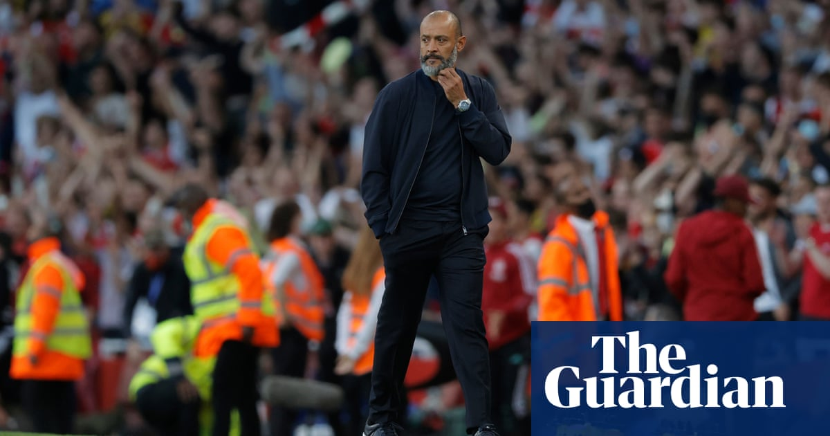 Tottenham's Nuno admits he picked wrong side in defeat by Arsenal