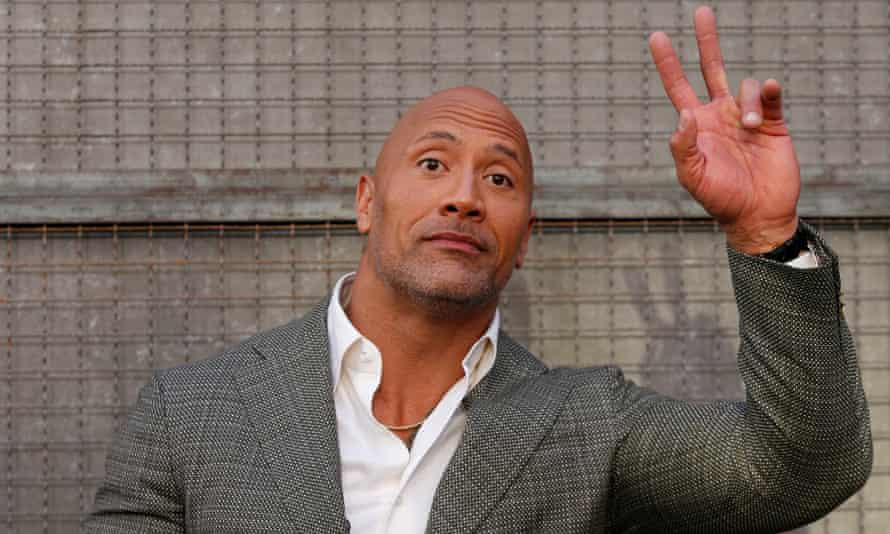 The Rock for president? I'll run if the people want it, says Dwayne Johnson  | US politics | The Guardian