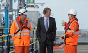 Ratcliffe visits the Ineos plant in Grangemouth on Tuesday.