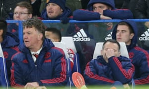Louis van Gaal sits next to Ryan Giggs, who has remained silent in the wake of criticism from his Class of 92 team-mate Paul Scholes.