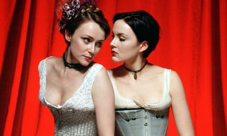 Wild at heart … Keeley Hawes as Kitty and Rachael Stirling as Nan in the 2002 adaptation of Tipping the Velvet.