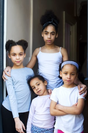 Rhianne (14), Sienna (6), Kianna (4) and Anaya (11) by Sophie Harris-Taylor from the book Sisters