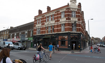 The Wheatsheaf pub in Tooting Bec – saved from closure by a local campaign.