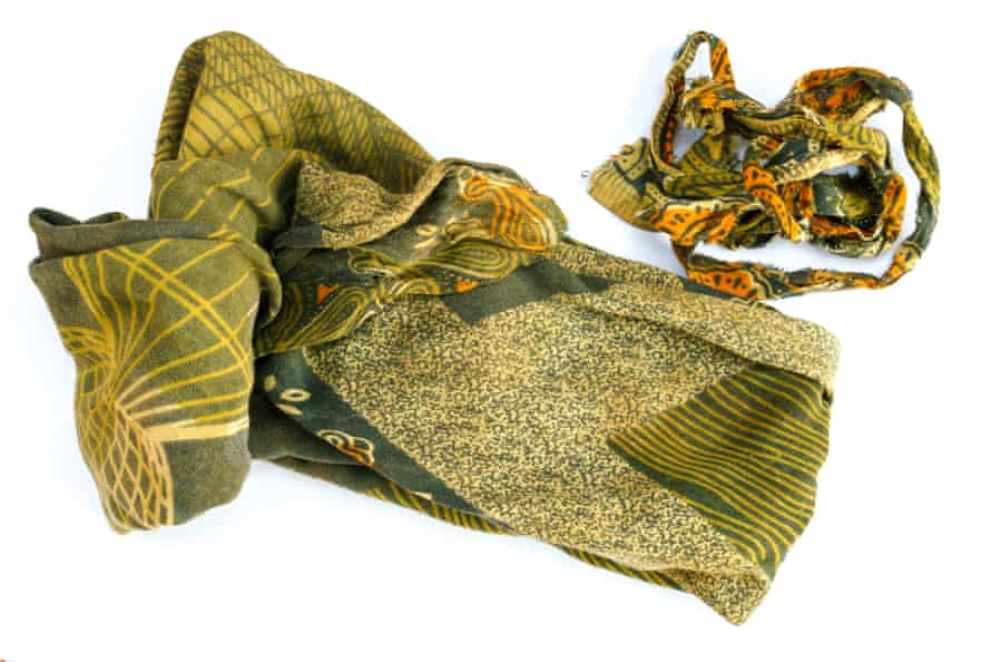 Nyanda, a small piece of cloth used as a sanitary pad in Kapyanga, Kasungu, Malawi